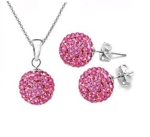 Комплект тип Шамбала розово