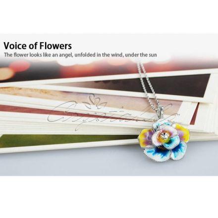 Колие Viola - цветно