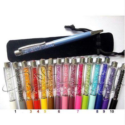 Химикал с цветни кристали