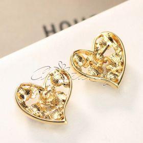 Комплект  Key To My Heart жълто злато
