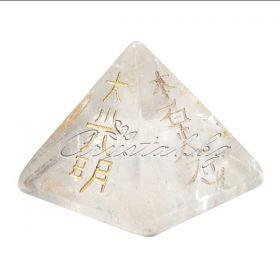 Кристали с рейки символи от розов кварц