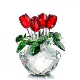 Кристална фигура Roses