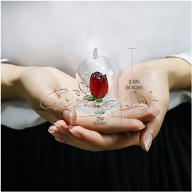 Кристална фигура Lover's Rose