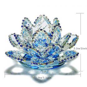 Кристална фигура Chakra Crystal полусфера