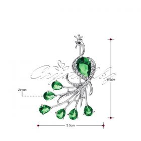 Брошка Peafowl