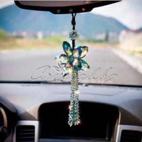 Кристална висулка за кола Five Petals