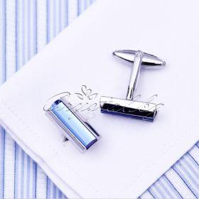 Бутонелите, копчета за ръкавели Blue Elegance